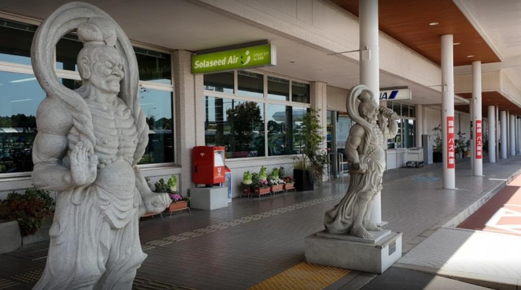 大分空港玄関口